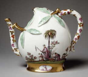 Oriental Fantasies in Seventeenth and Eighteenth Century Europe: The Origin and Application of Chinoiserie Porcelain
