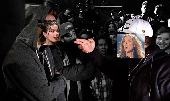 rap battle collage