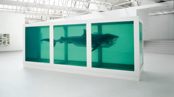 damian-hirst-the-physical-impossibility-of-death-in-the-mind-of-someone-living-1992