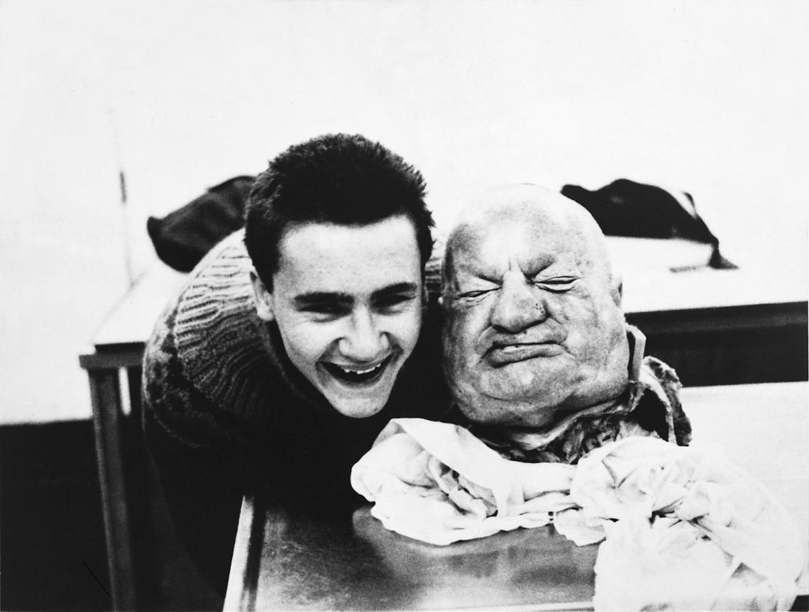 With Dead Head 1991 by Damien Hirst born 1965