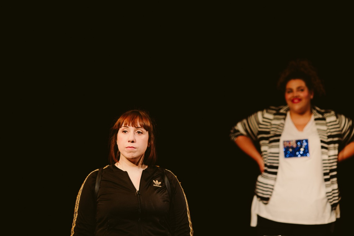 Nadia Rossi and Sharni McDermott on stage for Sista Girl ©Kate Pardey