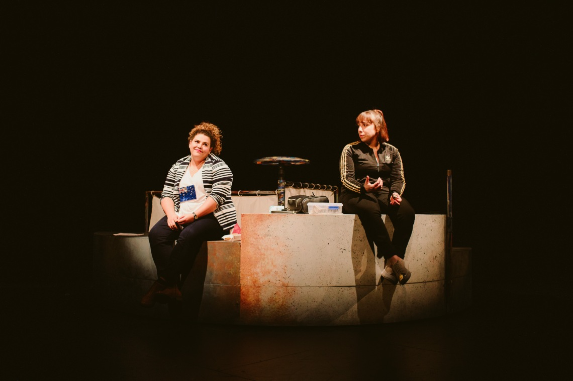 Sharni McDermott and Nadia Rossi on stage for Sista Girl ©Kate Pardey (2)