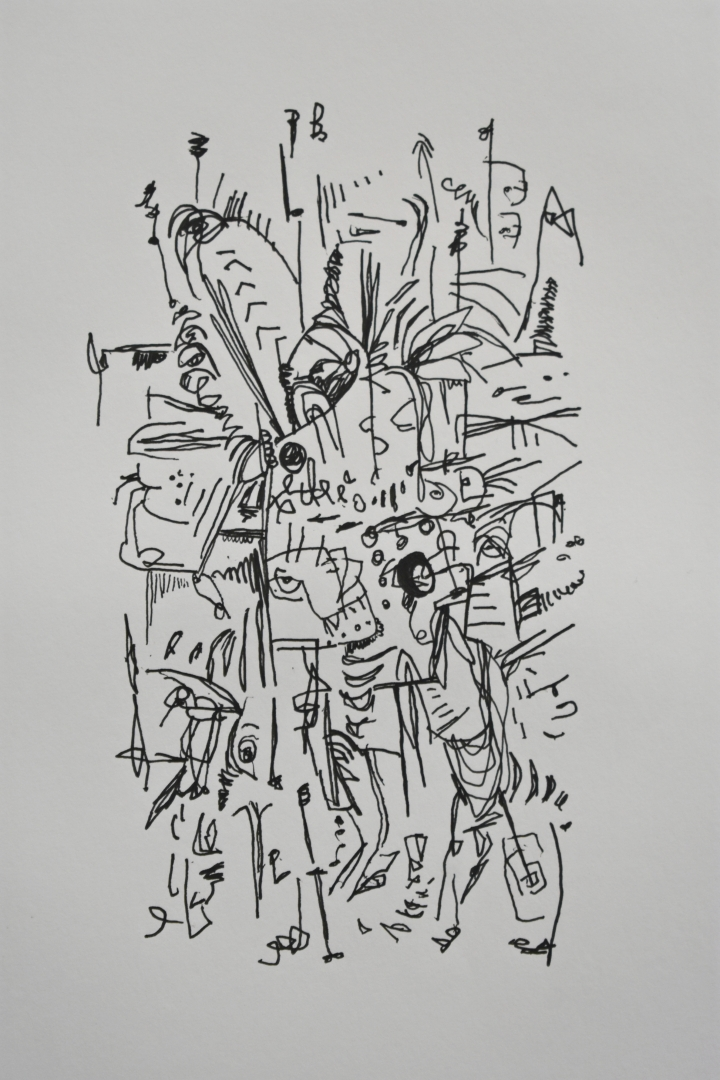 5. Push Pull drawing ink on paper 2016 2017.jpg