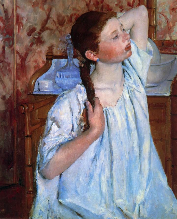 Cassatt_Mary_Girl_Arranging_Her_Hair_1886