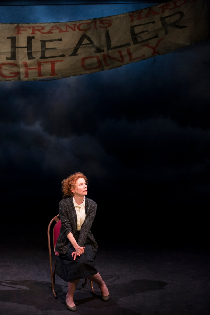 Alison Whyte in Faith Healer photo by Brett Boardman